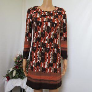 Aryeh Brand Women's Abstract Dress Size Small